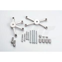 Kit montaje protectores de carenado Street Triple/R LSL 550T053.1SW