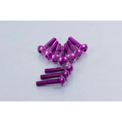 Kit tornillos de carenado Pro-Bolt ZX10R (06-07) aluminio violeta FKA286P