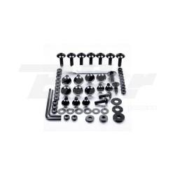 Kit tornillos de carenado Pro-Bolt ZX10R (08-10) aluminio negro FKA287BK
