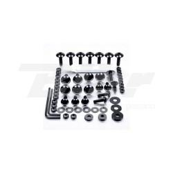 Kit tornillos de carenado Pro-Bolt ZX10R (11+) aluminio negro FKA288BK