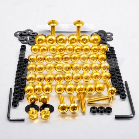 Kit tornillos de carenado Pro-Bolt Aluminio Oro CBR600 07+ FHO100G