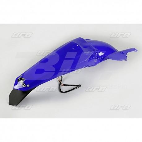Guardabarros trasero con piloto LED UFO Yamaha azul YA04841-089