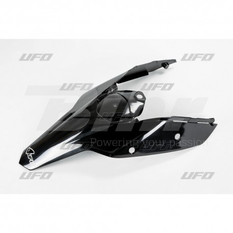 Guardabarros trasero con paneles laterales UFO KTM negro KT03094-001