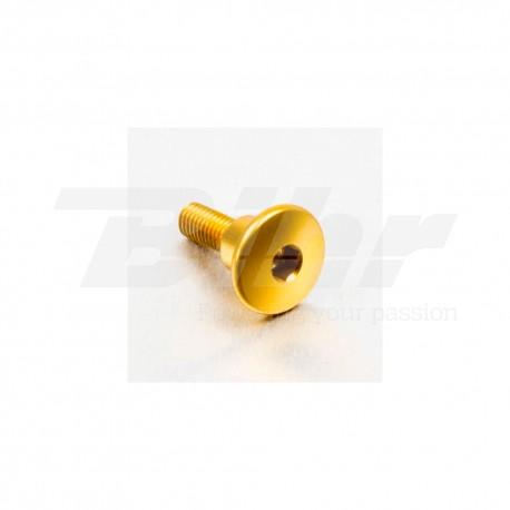 Tornillo de Aluminio Pro-bolt cabeza redondeada M6 x 22mm con casquillo 9.5mm x 8mm oro LFB622COLLG