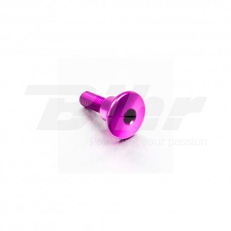 Tornillo de Aluminio Pro-bolt cabeza redondeada M6 x 22mm casquillo 9.5mm x 8mm violeta LFB622COLLP