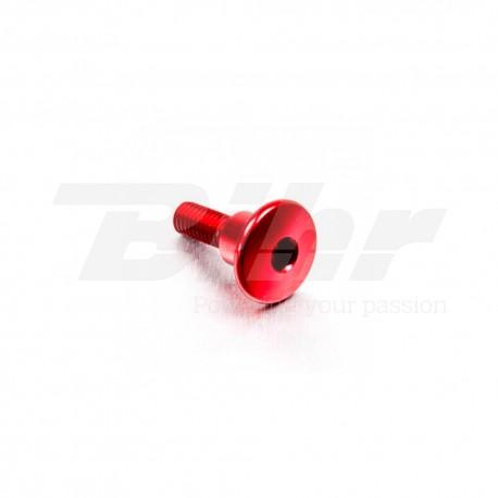 Tornillo de Aluminio Pro-bolt cabeza redondeada M6 x 22mm casquillo 9.5mm x 8mm rojo LFB622COLLR