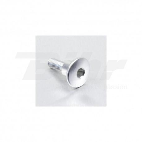 Tornillo de Aluminio Pro-bolt cabeza redondeada M6 x 22mm casquillo 9.5mm x 8mm plata LFB622COLLS