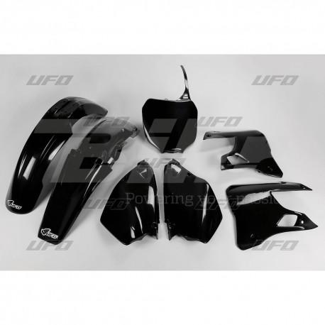 Kit plástica completo UFO Yamaha negro YAKIT300-001
