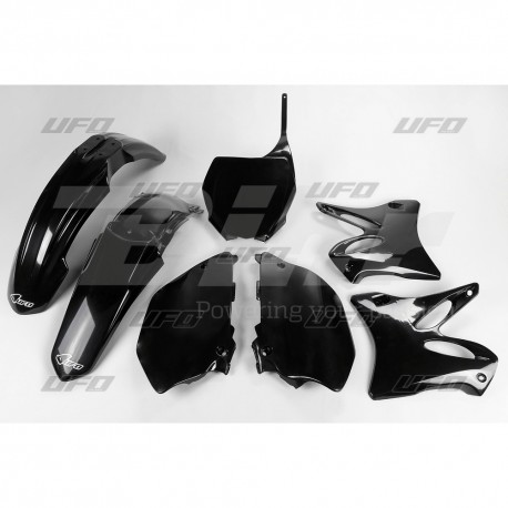 Kit plástica completo UFO Yamaha negro YAKIT302-001