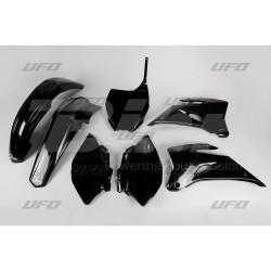 Kit plástica completo UFO Yamaha negro YAKIT305-001