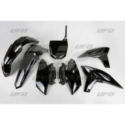 Kit plástica completo UFO Yamaha negro YAKIT310-001