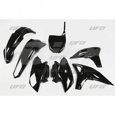 Kit plástica completo UFO Yamaha negro YAKIT316-001