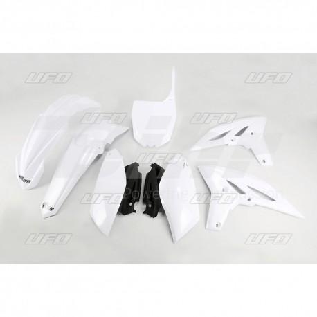 Kit plástica completo UFO Yamaha blanco YAKIT316-046