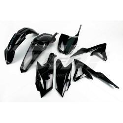Kit plástica completo UFO Yamaha negro YAKIT318-001