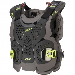 Peto Alpinestars A-1 Plus blanco / Antracita / Rojo