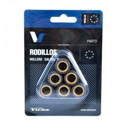 Rodillos variador Carbono 15x12. 4.5g