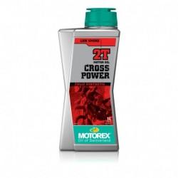 1L. ACEITE MEZCLA MOTOREX CROSS POWER 2T