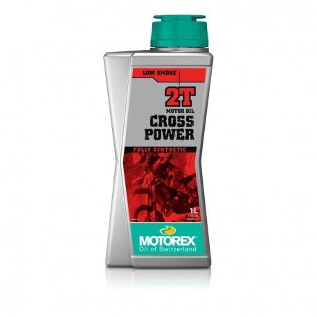 1L. ACEITE MEZCLA MOTOREX CROSS POWER 2T *