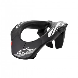 Collarin Alpinestars Infantil Support negro / blanco