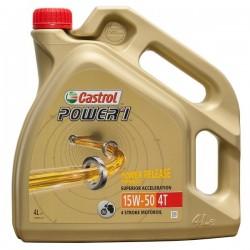 4L. Aceite Castrol Power 1 ( GPS ) 15W 50 4T *
