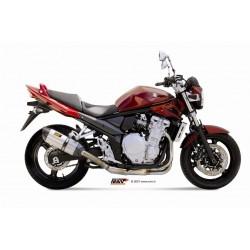 Silencioso Mivv Suzuki Gsf 650 / 1250 2007 - 2015 Suono Acero inoxidable homologado