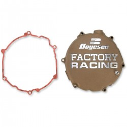 Tapa de embrague Boyesen Kawasaki Kx 250 R 2005 - 2008 marron