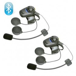 Jgo. 2 Intercomunicadores Sena Smh5 Fm con microfono de varilla y cable