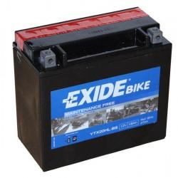 Bateria Exide Ytx20hl-bs sellada sin mantenimiento