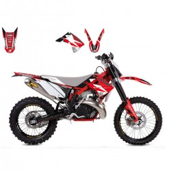 KIT DE ADHESIVOS BLACKBIRD RACING DREAM 3 GAS GAS 125 - 450 2010 - 2013