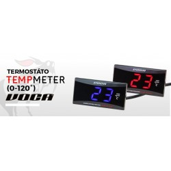 MARCADOR TEMPERATURA VOCA RACING 0-120° ILUMINADO AZUL