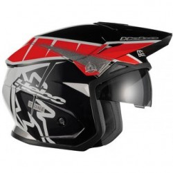 Casco Hebo Zone 05 T-One rojo