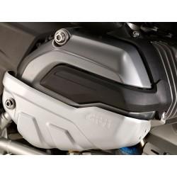 PROTECTOR CILINDROS DE MOTOR GIVI BMW R 1200 GS LC Y R 1200 R / R 1200 RT / RS ALUMINIO PLATA