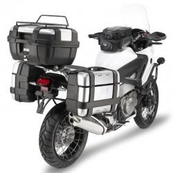 Jgo. Soportes / Herrajes baul central Givi Honda Crosstourer 1200 2012 - 2015 para baules Monokey