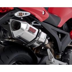 Jgo. 2 Silenciosos Vance & Hines Ducati Monster 696 / 796 / 1100 I.E. Cs One Dual acero inox.
