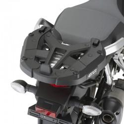 Jgo. Soportes / Herrajes baul central Givi Suzuki Dl 1000 V-Strom 2014 - 2015 para baules Monokey