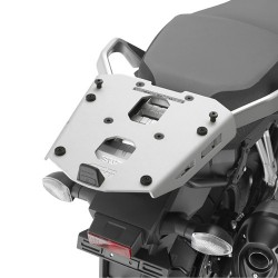 Jgo. Soportes / Herrajes baul central Givi Suzuki Dl 1000 V-Strom 2014 - 2015 aluminio para baules Monokey