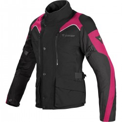 Chaqueta Dainese Tempest D-Dry Lady negra / fucsia