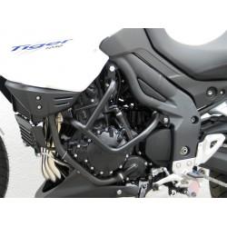 DEFENSAS DE MOTOR FEHLING TRIUMPH TIGER 1050 2007 - 2012 NEGRAS