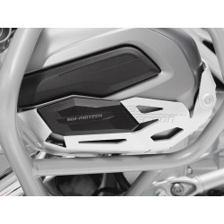PROTECTOR CILINDROS DE MOTOR SW-MOTECH BMW R 1200 GS LC Y R 1200 R / R 1200 RT / RS ALUMINIO PLATA