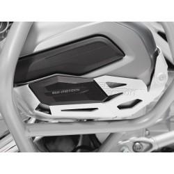PROTECTOR CILINDROS DE MOTOR SW-MOTECH BMW R 1200 GS LC Y R 1200 R / R 1200 RT / RS ALUMINIO PLATA