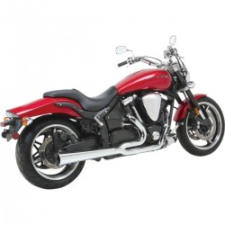 Sistema / Escape completo Vance & Hines Pro Pipe Hs Yamaha Xv 1700 2002 - 2010 cromados