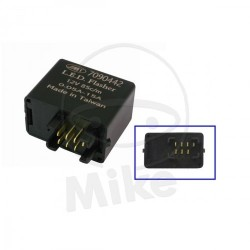 RELÉ PARA INTERMITENTES LED JMP 12V 7 PINS