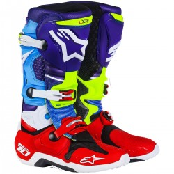 BOTAS ALPINESTARS TECH 10 VENOM LIMITED EDITION RED BUD
