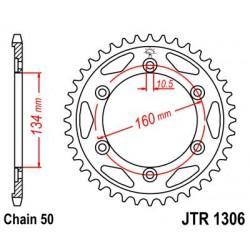 Corona De Arrastre / Plato Acero JT Sprockets Honda CBR 900 / 1000 42 Dientes