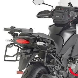Herrajes / Soportes maletas laterales Givi Kawasaki Versys 1000 2015- para maletas Monokey