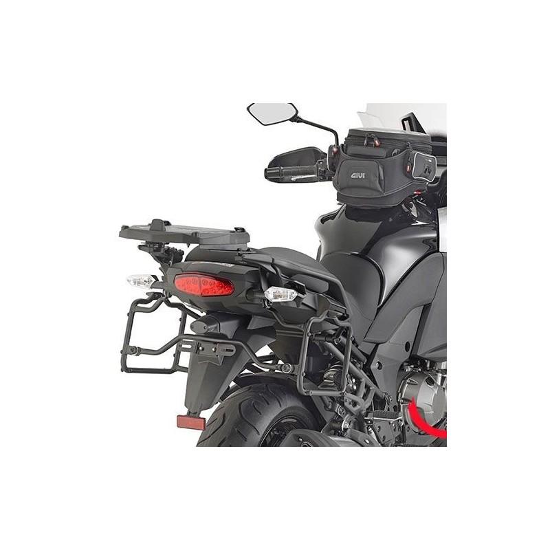 e1a4b9eb Herrajes / Soportes maletas laterales Givi Kawasaki Versys 1000 2015- para  maletas Monokey. Loading zoom