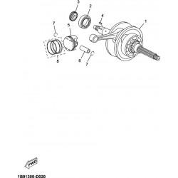 Cigueñal Yamaha X-max 125 / Mbk, etc...