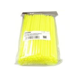 Kit fundas para radios amarillo fluorescente
