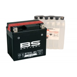 Bateria Bs Battery Ytx5l-bs sin mantenimiento
