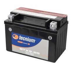 Batería Tecnium YTX9-BS sellada sin mantenimiento